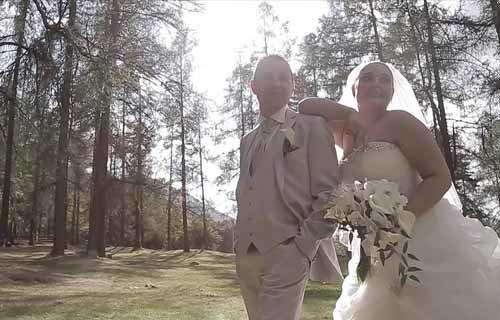 Video matrimonio sul lago e in montagna